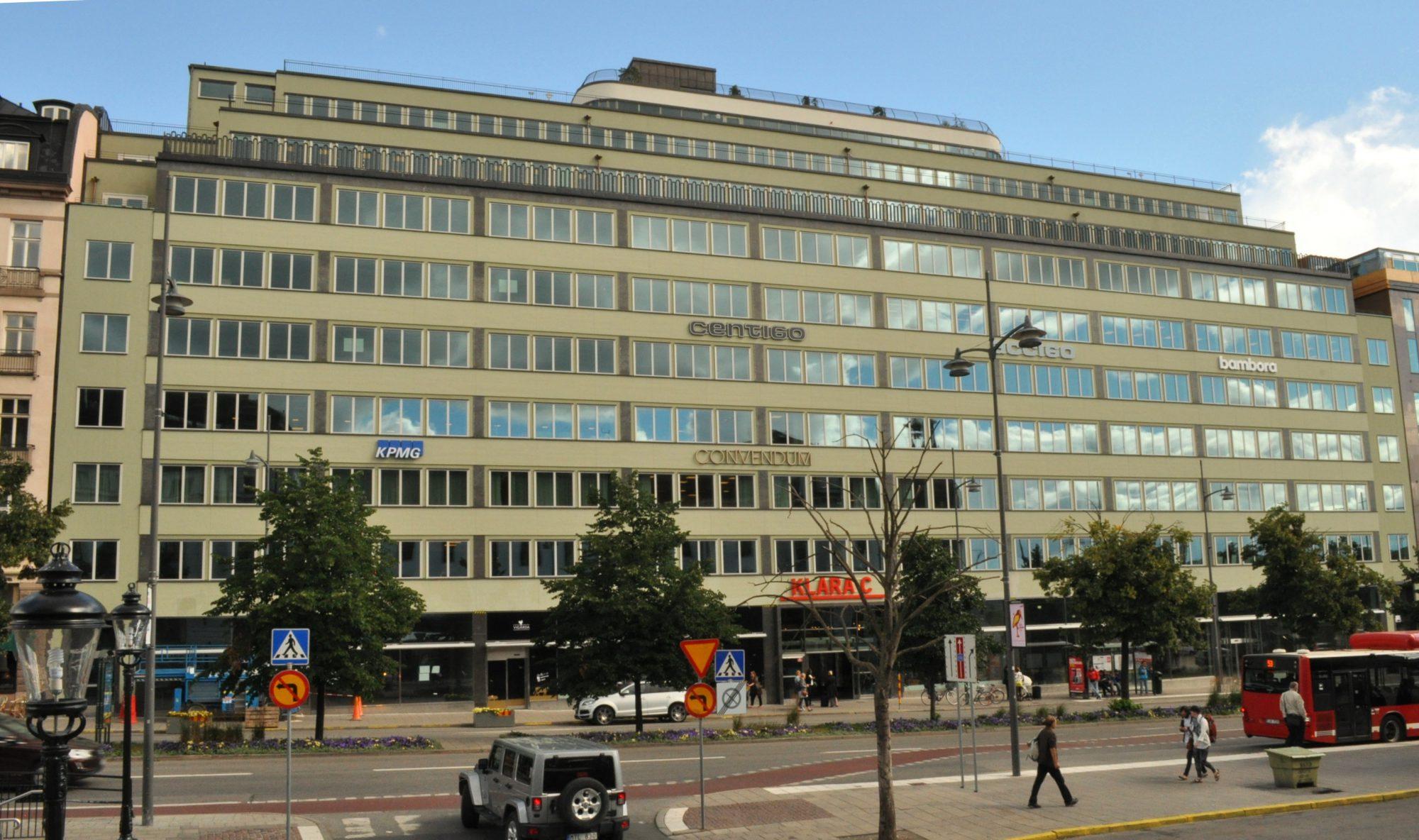 Foton Fran Nya Kontoret Pa Vasagatan Revisionsvarlden
