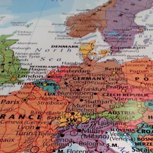 Karta Europa Pa Svenska.Deloitte Ritar Om Europakartan Revisionsvarlden
